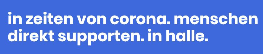 corona direct support halle_saale